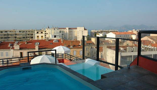 Eden Hotel Spa - Piscine penthouse comp