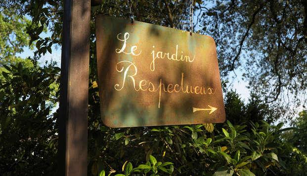 L Yeuse - garden
