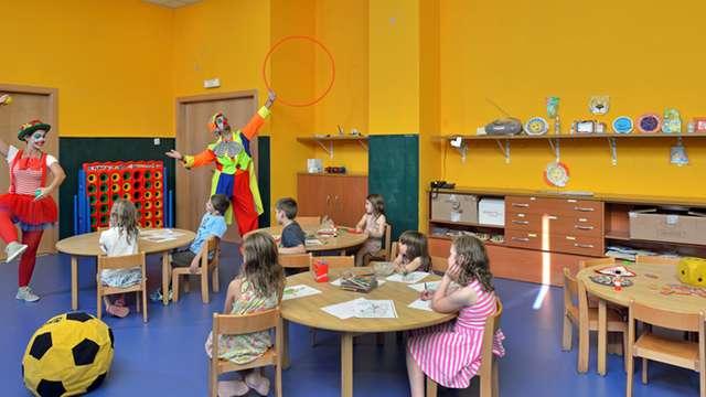 Acceso al club infantil de 3 a 12 años