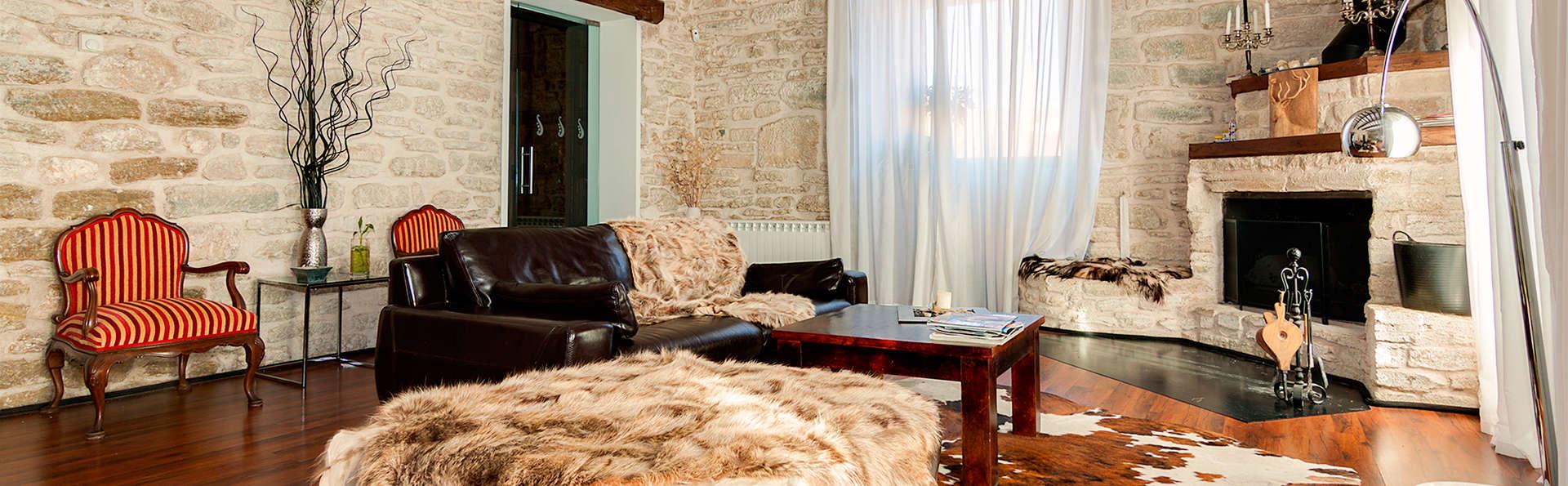 Escapade relaxante avec dîner et jacuzzi privé près de Burgos