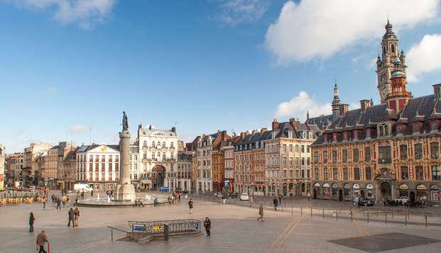 Week-end de la Toussaint dans la ville de Lille (à partir de 2 nuits)