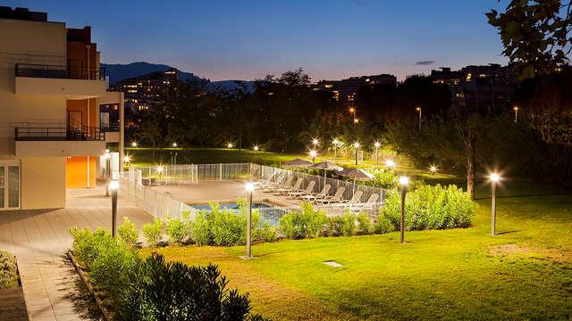 Calme et modernité aux portes de Cannes