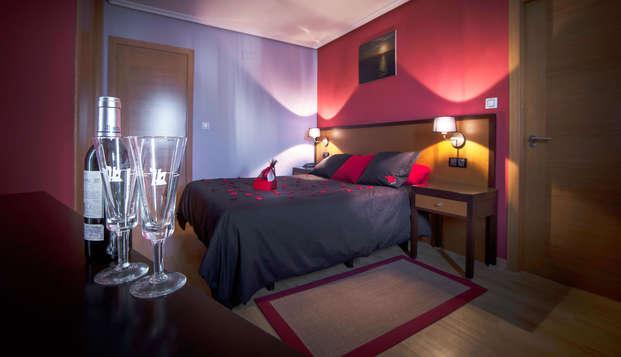 Romantisch uitje met lovebox, cava en toegang tot de thermale baden van Outariz