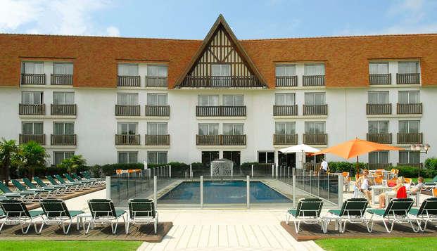 Amiraute Hotel Golf Spa Deauville - garden