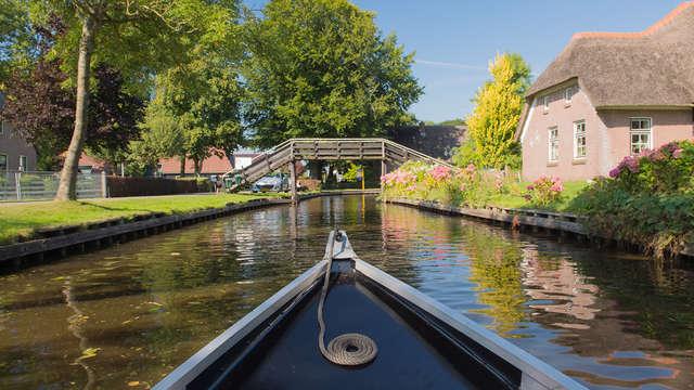 Découvrez les forêts et les lacs près de Giethoorn à vélo (à partir de 2 nuits)