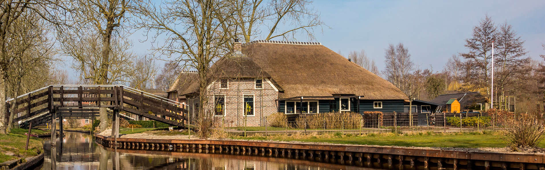 Retrouvez la paix dans la région boisée près de Giethoorn