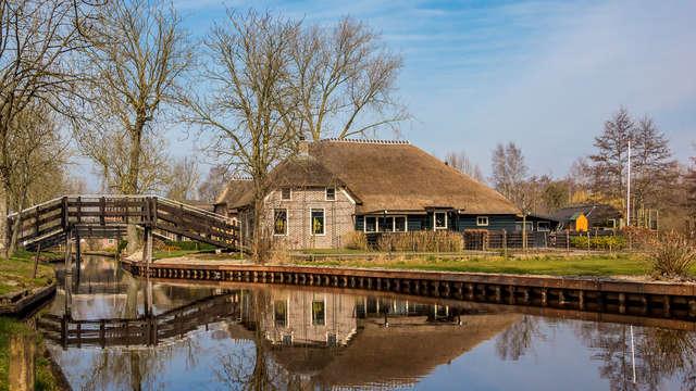 Ervaar ware rust in de bosrijke omgeving nabij Giethoorn