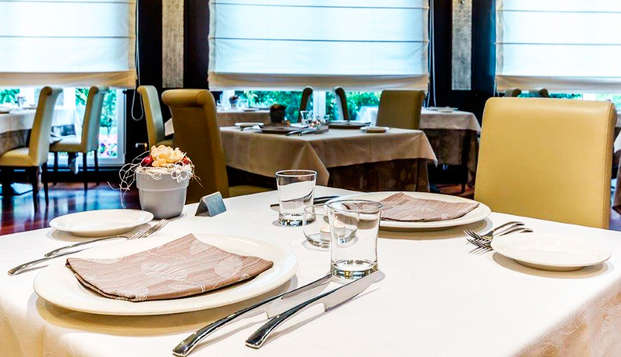 Disfruta de una deliciosa cena en Milán