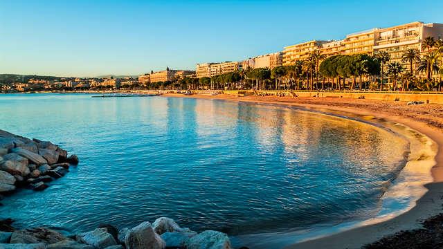 Point de chute idéal sous le soleil de Cannes