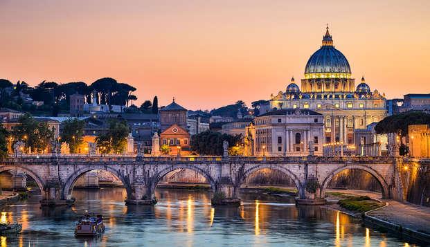 Dormi fuori Roma e visita i Musei Vaticani e la Cappella Sistina