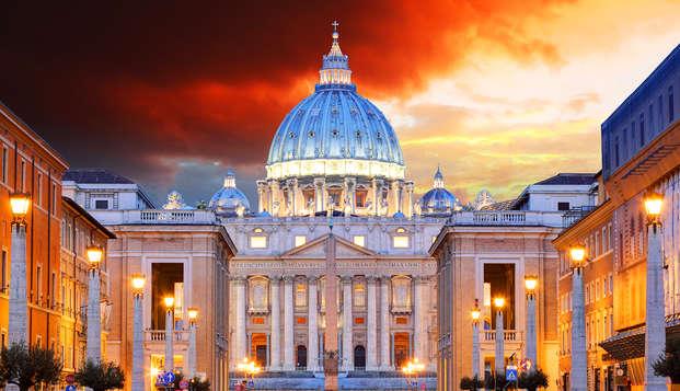 Visitez Rome et le musée du Vatican en hôtel 4*