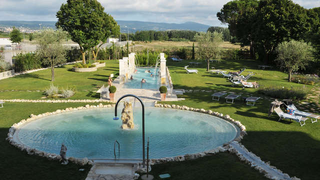 Weekend romantico alle terme di Viterbo con accesso alla spa