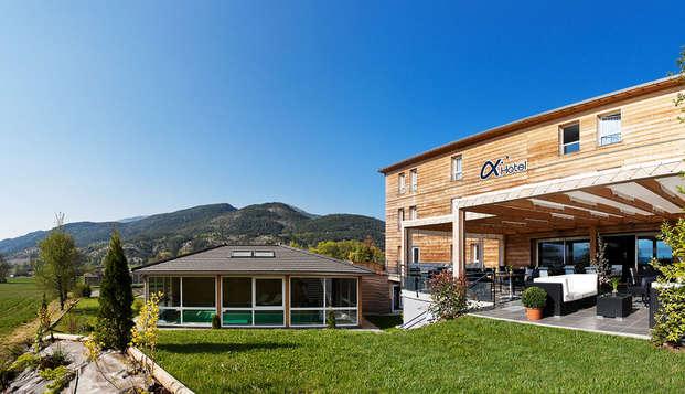Séjour détente en chambre supérieure dans un charmant hôtel de montagne