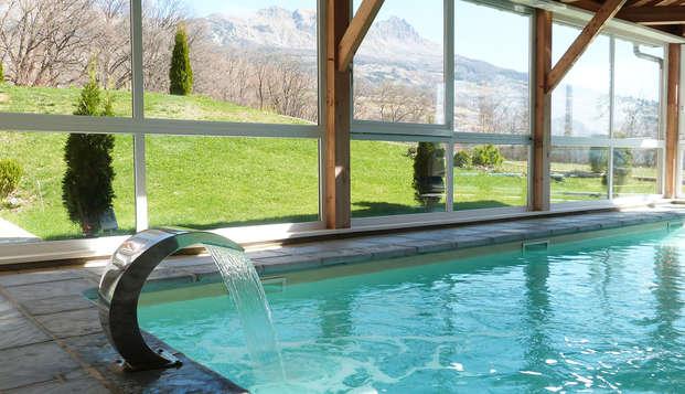 Cadre zen au cœur des Alpes du Sud