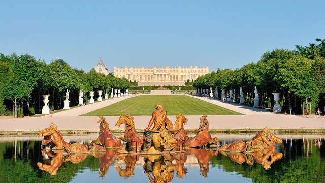Visite en toute sérénité ! Week-end avec entrée au Château et Grandes Eaux Musicales (Pass 2 Jours)