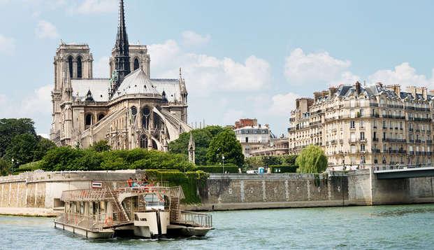 Desconecta y descubre París con un crucero por el Sena