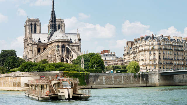 Découverte en croisière sur la Seine