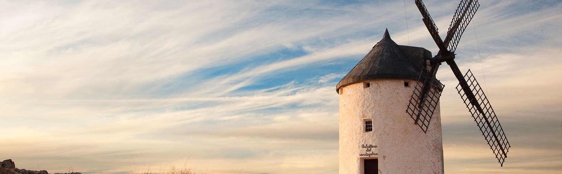 Munera, el lugar de la Mancha: Suite con cena gastronómica, gin tonic y bicis (desde 2 noches)