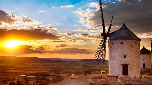 Ruta del Quijote: Hospedería típica con una cena manchega incluida en Munera (desde 2 noches)