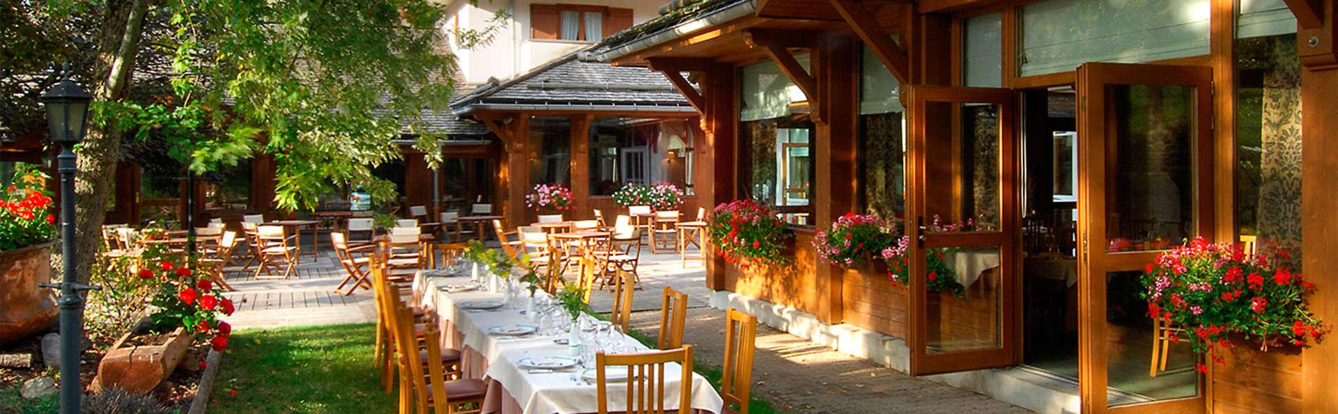 Détendez-vous dans un hôtel de charme avec un dîner 4 plats au coeur de la Clusaz