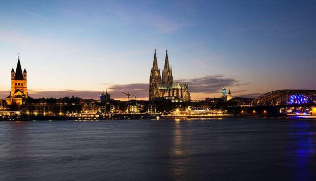 Découvrez les multiples facettes de Cologne (à partir de 2 nuits)