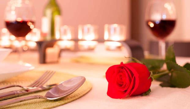 Luxe et gastronomie pour la fête des amoureux