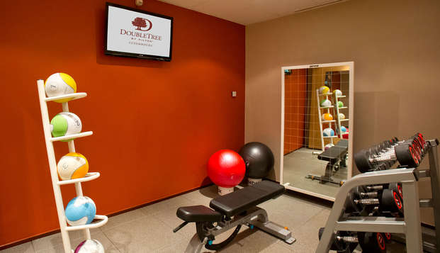 DoubleTree by Hilton Luxembourg - fitness centre