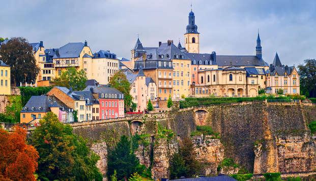 Luxe et détente dans la ville de Luxembourg