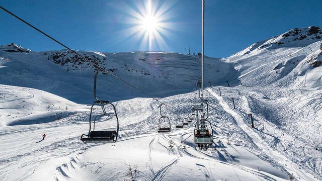 Amanecer en las montañas blancas del Piamonte (no reembolsable)