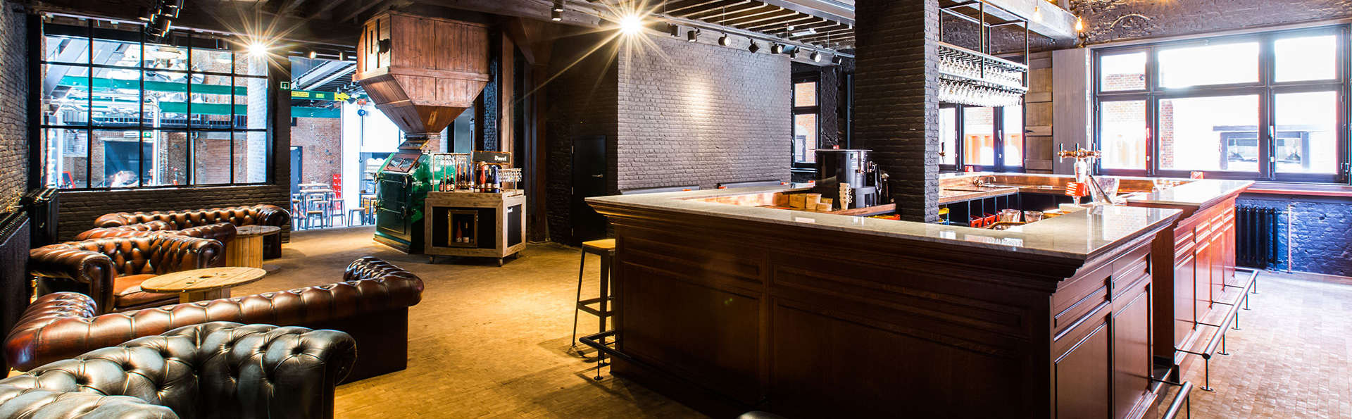 Lujo en el corazón de Amberes con visita a la cervecería De Koninck