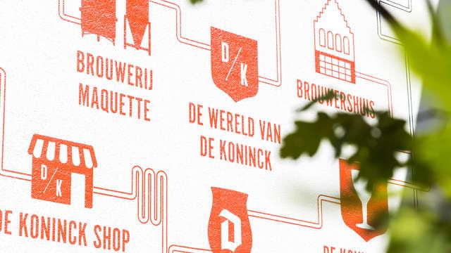 Leer alles over het Belgische biertje de Koninck tijdens je verblijf dicht bij Antwerpen