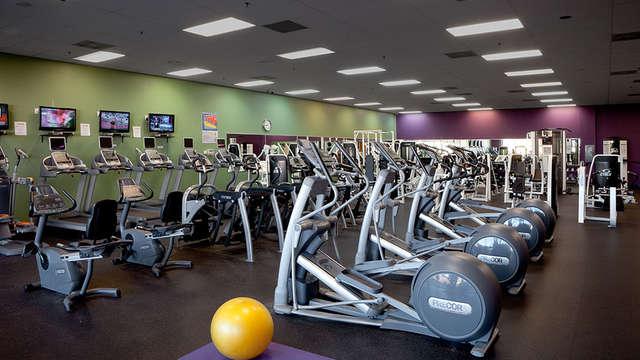 acceso al espacio fitness para 2 adultos