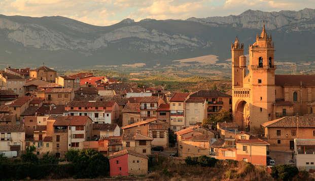 Escapada con visita a bodega en un acogedor hotel en la Rioja Alavesa