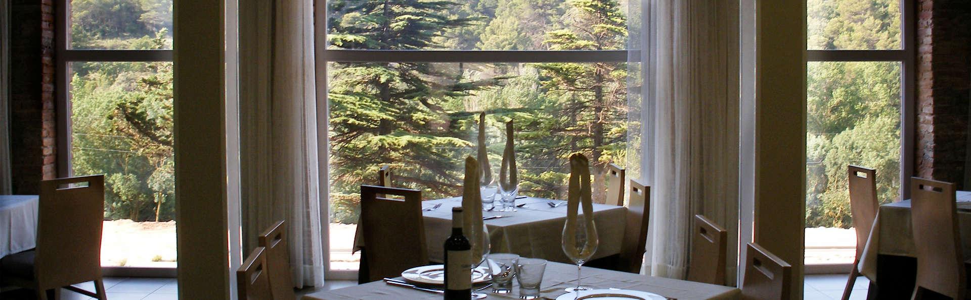 Spa et dîner en pleine nature à Rocallaura