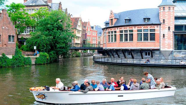 Gent vanaf het water tijdens een cultureel weekendje