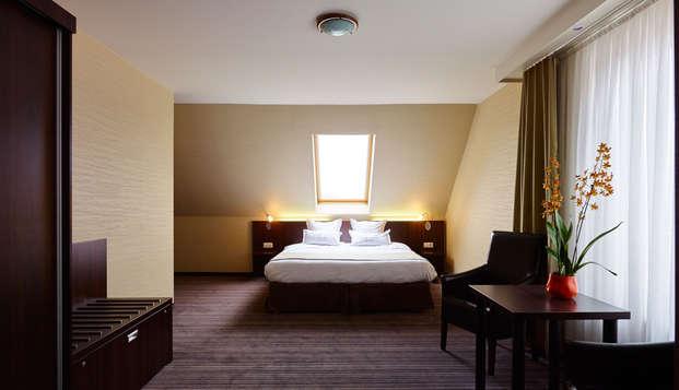 Romantisch weekendje weg naar de kust in luxueuze junior suite