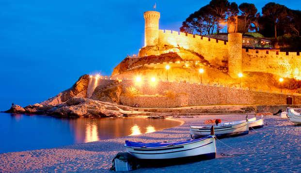 Oferta Exclusiva: Verano de ensueño en pensión completa en Tossa de Mar ( desde 3 noches )