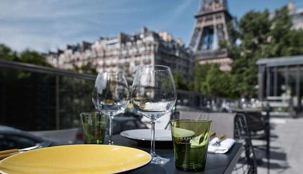 Pullman Paris Tour Eiffel - terrace