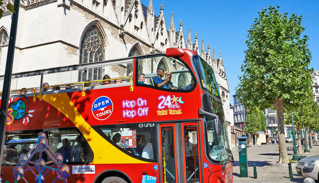 Découvrez Bruxelles avec le bus touristique hop on