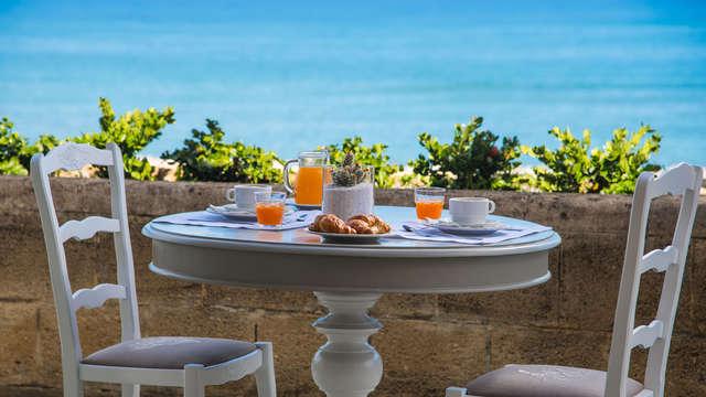 Soggiorno in mezza pensione con ingresso alla spa sul mare della Sicilia