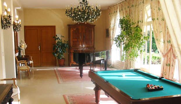 Relais de Margaux Hotel Spa - billar
