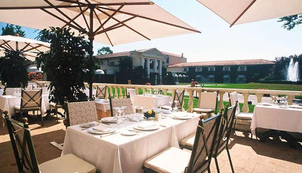 Relais de Margaux Hotel Spa - terrace