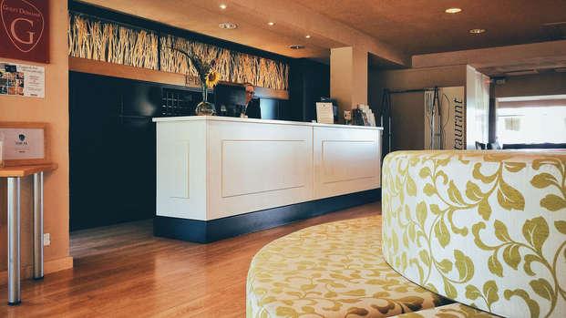Hotel Les Dryades Golf Spa - reception
