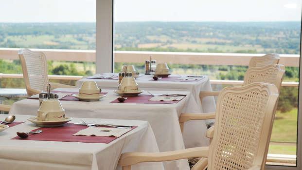 Hotel Les Dryades Golf Spa - restuarante