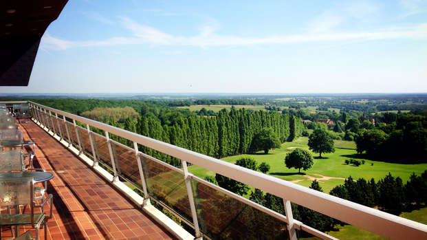 Hotel Les Dryades Golf Spa - terrace