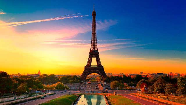 Diseño y ambiente chic a las afueras de París