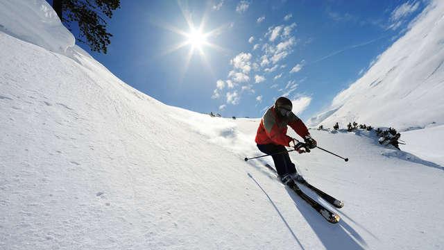 Séjour spécial ski avec dîner près de la station des Arcs