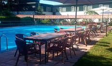 1 toegang tot het buitenzwembad