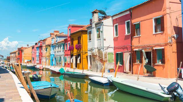 Découverte de Venise et des îles de Murano et Burano et visite en gondole (4 nuits)