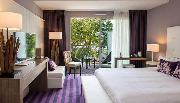 Chateau des Tourelles Hotel Thalasso Spa Baie de La Baule - Confort--parc
